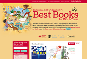 Online edition of Best Books for Kids & Teens now available!