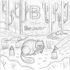 Canada ABC: B is for Beaver