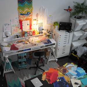 Ashley's studio