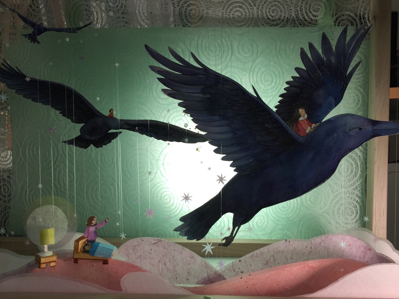 diorama for sukaq and the raven
