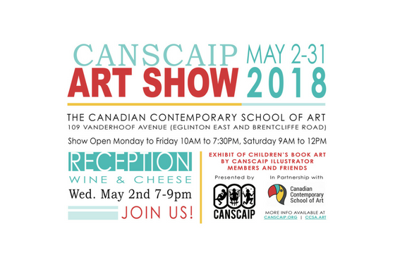 CANSCAIP Art Show in Toronto