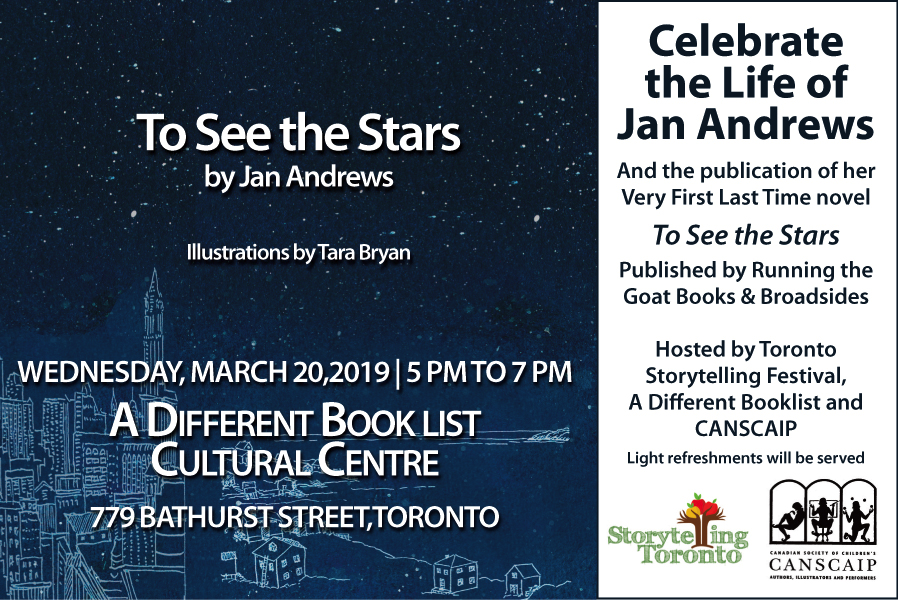 Celebrate The Life Of Author Storyteller And Canscaiper Jan