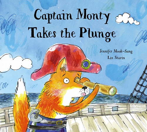 book launch CAPTAIN MONTY TAKES THE PLUNGE