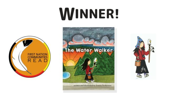 The Water Walker by Joanne Robertson Wins First Nation Communities READ Award