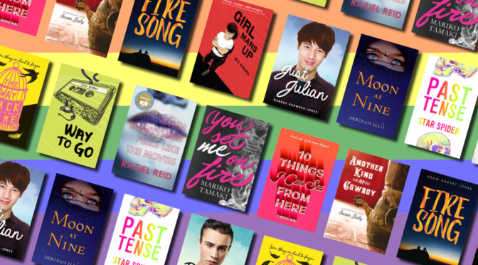 BOOK LIST: LGBTQIA+ YA for Pride